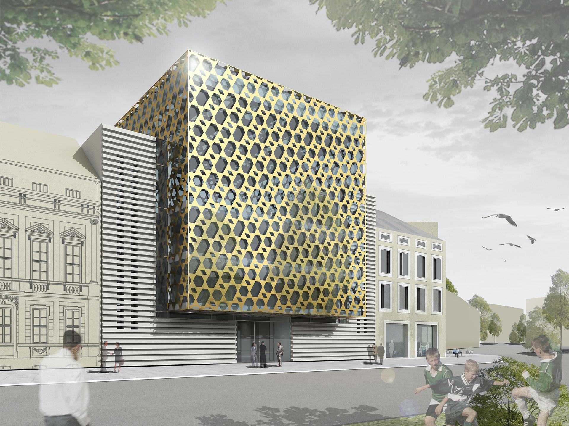 Ksv neue synagoge potsdam for Designhotel potsdam