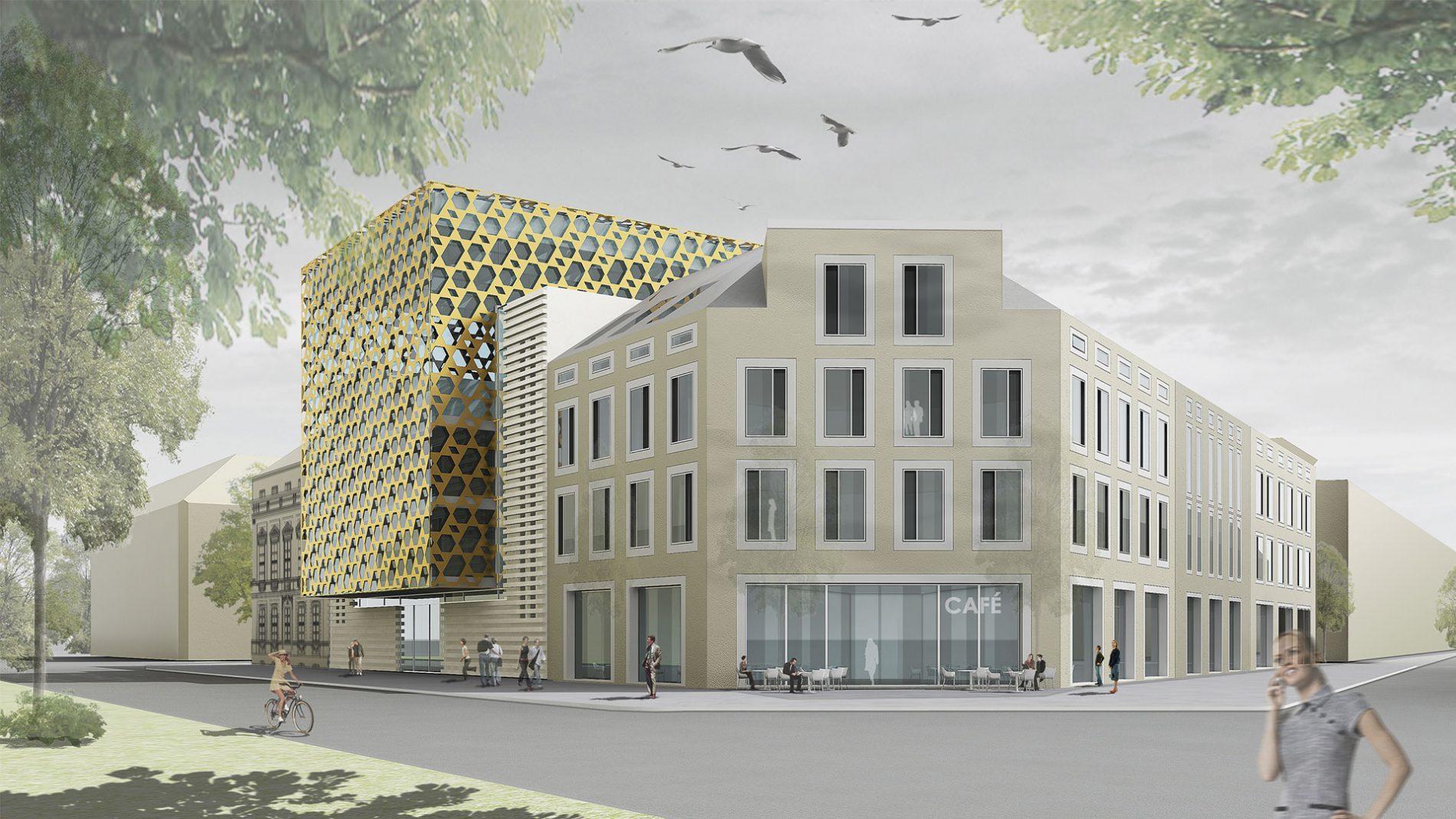Ksv neue synagoge potsdam for Design hotel quedlinburg